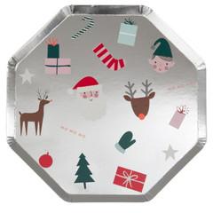 Festive Icons, Large Plates