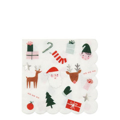 Festive Icons, Large Napkins