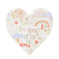 Valentine Doodle Napkins, Small