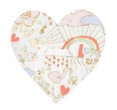 Valentine Doodle Napkins, Large