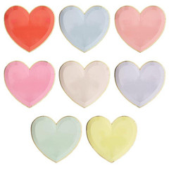 Heart Party Palette Plate, Large