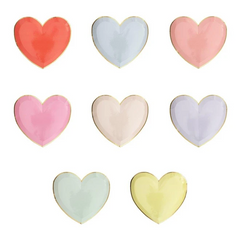 Heart Party Palette Plate, Small