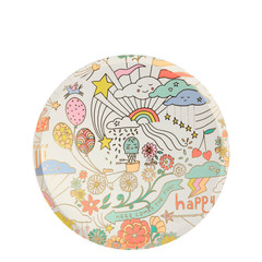 Happy Doodle Plates, Side Plates