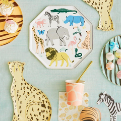 Safari Animal Dinner Plates