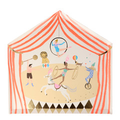Circus parade plates