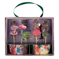 Nathalie Lete Flora Cupcake Kit