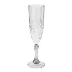 Champagne Flute, Clear