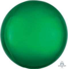Orbz, Green Foil Balloon, 16""