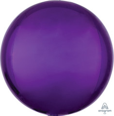 Orbz, Purple Foil Balloon, 16""