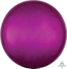 """Orbz, Hot Pink Foil Balloon, 16"""""""