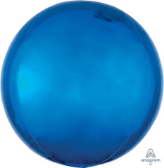 Orbz, Blue Foil Balloon, 16""