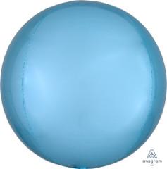 "Orbz, Pastel Blue Foil Balloon, 16"""
