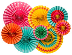 Fiesta Colorful Pinwheels