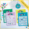 Each Bingo set has ten unique game boards so up to 10 players can enjoy the game simultaneously.