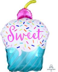 "You're Sweet Cupcake, Balloon, 26"""
