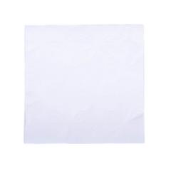 White Linen Embossed Paper Napkins