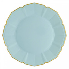 Sky Blue Dinner Plates