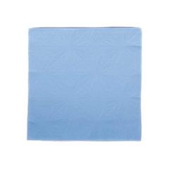 Sky Blue Embossed Paper Napkins