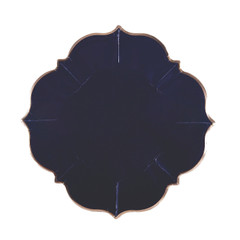 Navy Blue Lunch Plates