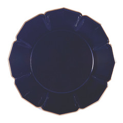 Navy Blue Dinner Plates