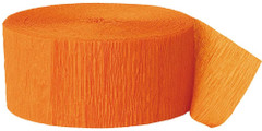 Crepe Streamers, Orange