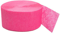Crepe Streamers, Candy Pink
