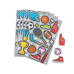 Sports Icon Sticker Sheets