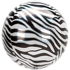 """Orbz, Zebra Print 16"""""""