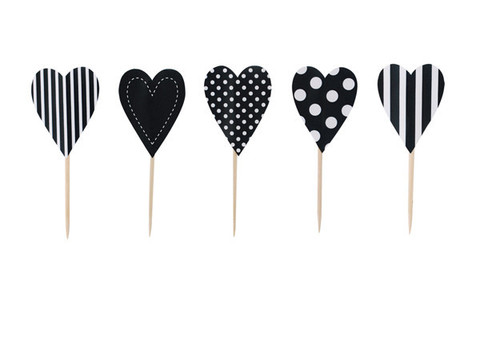 Black Tie Heart Topper