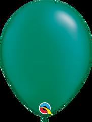 "Pearl Emerald Green Balloons, Green, 11"""