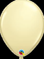 "Ivory Silk Balloons, 5"""