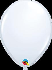 """White Balloons, 5"""""""