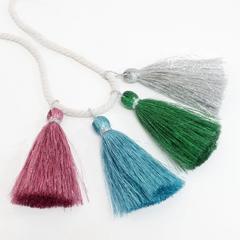 Colorful Metallic Tassel Garland