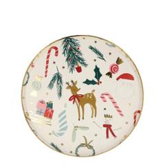 Festive Motif, Side Plates