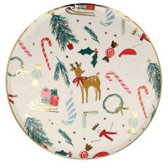 Festive Motif, Dinner Plates