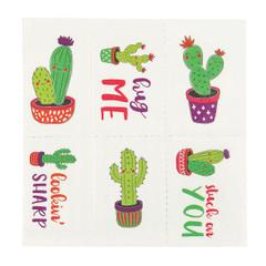 Cactus Temporary Tattoos