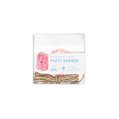 Whimsy Glitter Candy Banner, Mini