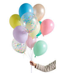 Pastel Rainbow Balloon Set