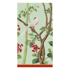 Scots Wallpaper Celadon, Guest Napkins