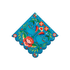 Floral Fiesta Napkins, Small