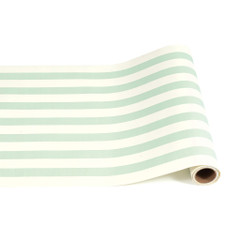 Table Runner, Seafoam Classic Stripes
