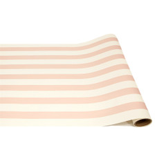 Table Runner, Pink Classic Stripes