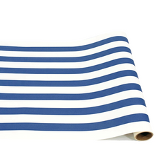 Table Runner, Navy Classic Stripes