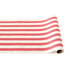 Table Runner, Red Classic Stripes