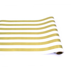Table Runner, Gold Classic Stripe