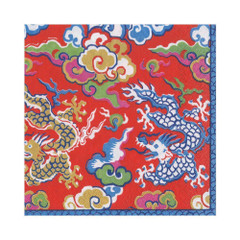 Imperial Silk Red, Lunch Napkins