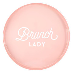 Bar Tray, Brunch Lady