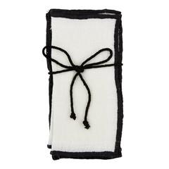 Linen Napkins, Ivory 4/pk