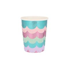 Fringe Cups, Mermaid Scallops