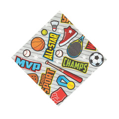 Sports Icon Napkins